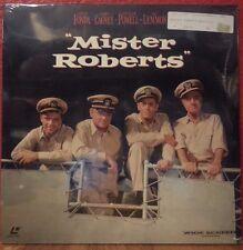 """Mister Roberts"" Laser Disc (Warner 16879) Fonda Cagney Powell Lemon New"