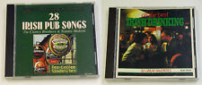 Lot of 2 Irish Pub Drinking Songs CDs ~ Made in Canada