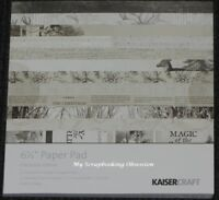 """Kaisercraft 'CHRISTMAS EDITION' 6.5"""" Paper Pad Holly/Xmas KAISER Deleted 9 left"""