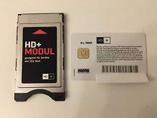 CI Plus Modul • incl. HD03 Karte weiß (abgelaufen, ohne Abo) • CI+ für HD+
