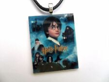Harry Potter Film Poster Ciondolo collana in pelle con cartoncino