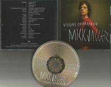Rolling Stones MICK JAGGER w/ ROB THOMAS Vision of Paradise EDIT PROMO CD Single