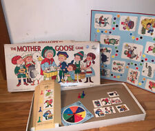 The Mother Goose Vintage Board Game 1971 CADACO Kids - Missing 1 Mover