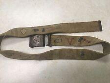 Early Boy Scout Belt W/Camp Emblems