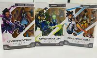 Overwatch Ultimates Series Sombra Tracer Lucio Action Figures Lot of 3 Hasbro