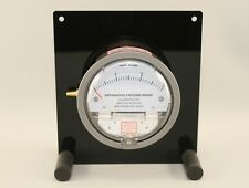 Analogue Differential Pressure Gauge Panel Wall Mount Table Stand