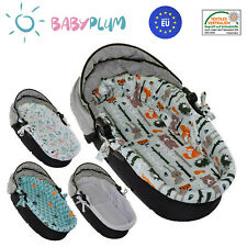 Nestchen für Kinderwagen Kinderwageneinlage Babywanne Stubenwagen + Matratze SET