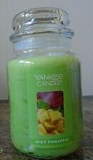 Yankee Candle~ Juicy Pineapple ~ NEW 1 SINGLE  22 oz Free Shipping