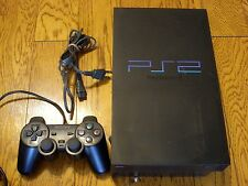Sony PlayStation 2 Midnight Black Console (SCPH-50000) NTSC JAPAN