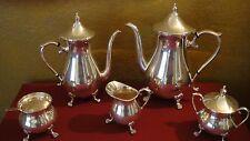 Antique Sheffield Silver Co. EPC (silver plate) 7pc Tea Set