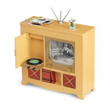 """American Girl MARYELLEN TELEVISION CONSOLE for 18"""" Dolls Furniture TV NEW"""