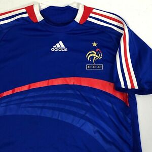 Adidas Clima 365 France FFF 2007 Soccer Jersey Women's XL World Cup Olympics