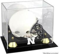 Nebraska Cornhuskers Golden Classic Logo Mini Helmet Display Case - Fanatics