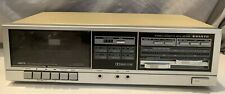 Sanyo Rd-S28 Single Stereo Cassette Deck Player Recorder Vintage Audio Japan