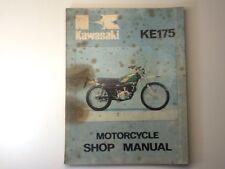 Genuine OEM Service Manual For Kawasaki 1975 KE175