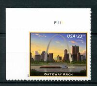 USA 2017 MNH Gateway Arch 1v S/A Set Monuments Architecture Stamps