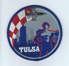 "125th FIGHTER SQUADRON ""TULSA"" F-16 SWIRL !!THE LATEST!! patch"
