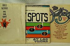 lot 3lp records Bill Kenny Mr. Ink Spot The Drifters The Ink Spots at Las Vegas