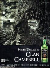 PUBLICITE ADVERTISING 086  2012  sur les traces du clan Campbell  whisky écosse