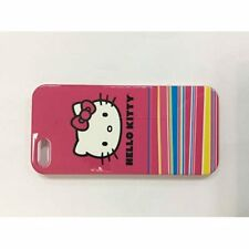 Hello Kitty Hardshell Case For iPhone 5 5S SE White/Red Cover Fitted 2E