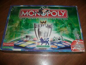 Monopoly FA Premier League Edition 1999-2000 Spare Replacement Pieces Money etc