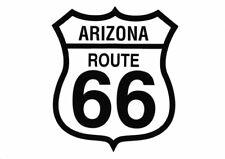 Route 66 Arizona Highway Sign black on white