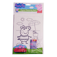 Peppa Pig Jigsaw Colouring Set|Peppa Pig Party|Party Favours|Party Bag Fillers