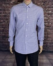 cd3e722fa HUGO BOSS Slim Fit Long Sleeve Plaids Checks Men's Dress Shirts | eBay