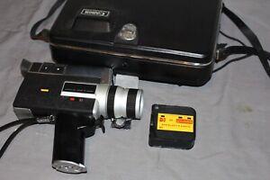 Canon Auto Zoom 518 SV Super 8 Kamera mit Canon Zoom Lens C-8 mit Koffer
