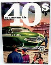 All-American Ads 40s by Jim Heimann, very good Taschen Americana Hot Rodder