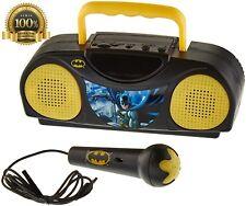 Pro Dc Comics Warner Brothers Radio Karaoke Portable Microphone Batman Boy Gift
