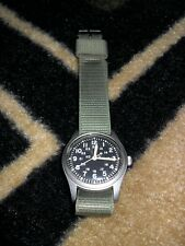 "Hamilton H3  Mil-W-46374B  Jul 1982 Military DRW Timepiece, ""Manual Wind"" L@@K"