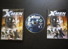 X-MEN LEGENDS II L'avènement d'Apocalypse : JEU PC DVD-ROM (Marvel COMPLET)