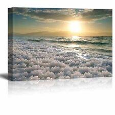 Canvas Prints - Beautiful Scenery/Landscape Sunrise at Dead Sea, Israel -16 x 24