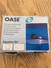 """Oase comprese Aqualux """"SET"""" illuminante CARATTERISTICA DELL'ACQUA NUOVO inutilizzato + spedizione gratuita +"""