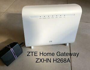 ZTE ZXHN H268A Home Gateway Wifi Router Modem