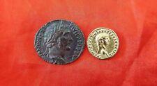 Monedas Romanas, Antoninus Pius Dupondius, Nero.