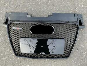 FIT For AUDI TT 8J 2008-2014 TTRS style front Grill bumper Honeycomb Mesh Grill