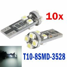 10x Canbus T10 W5W LED SMD Canbus Xenon Weiss Autobirne Glassockel Lampe 8 SMD