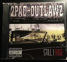 2 PAC+OUTLAWZ 'STILL I RISE' 1999 CD Album Rap Hip-hop