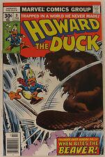 Howard the Duck #9 (Feb 1977, Marvel), VFN-NM, 1st Sgt, Preston Dudley of RCMP