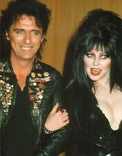 Alice Cooper & Elvira 11x14 Photo Picture Welcome to My Nightmare School's Out