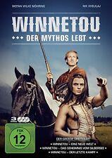 3 DVDs * WINNETOU - DER MYTHOS LEBT # NEU OVP §