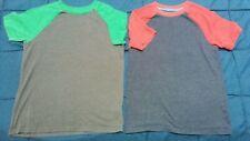 2 Cat & Jack Boys Short Sleeve Tee Shirt Size M 8-10