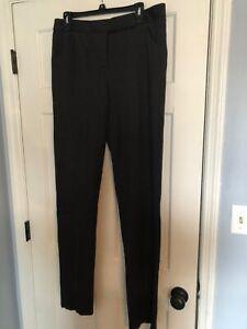 NWT Giorgio Armani Trousers 100% Virgin Wool Pants US Size 44 Unhemmed