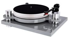 Audio Block PS-100+ Plattenspieler, silber, schönes und modernes Design, Neu+OVP
