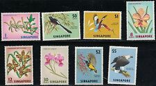 Singapore SC62-69 Birds&Flowers In Nature MNH 1963