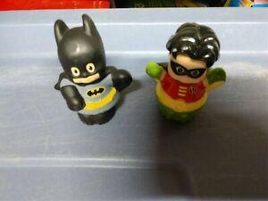 Fisher Price Little People Batman & Robin Figures
