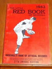 The Little Red Book of Baseball 1962  Baseball's Book of Official Records