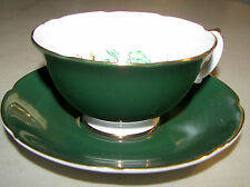 Vintage Royal Grafton Fine Bone China Made In England Footed Cup & Saucer